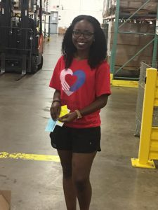 helping hands and caring hearts 2017 scholarship recipient